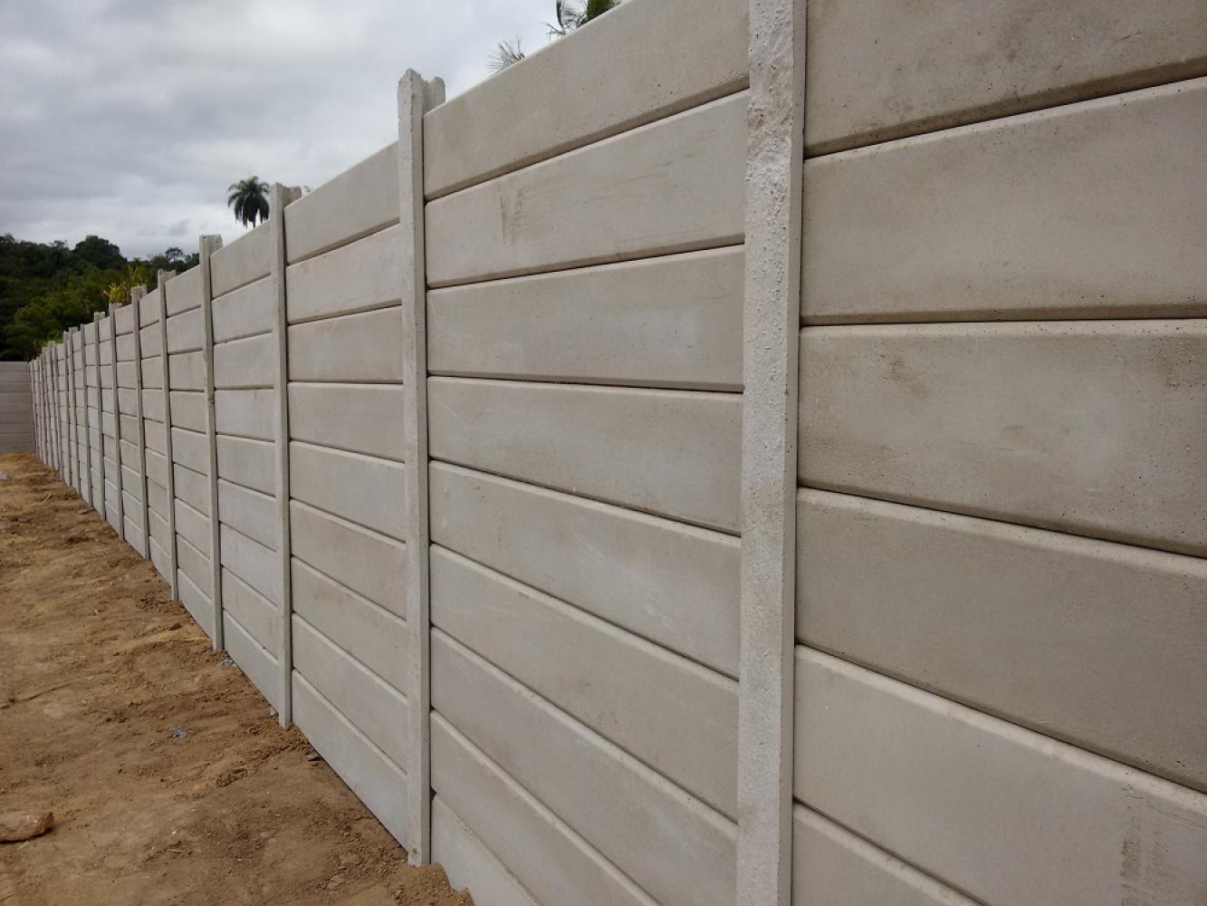 Muros pr fabricados for Muro de concreto armado